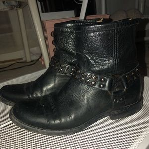 Frye Phillip Studded Harness Ankle Boot